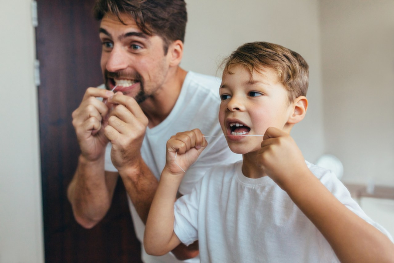 Le regole per la pulizia dentale dei bambini